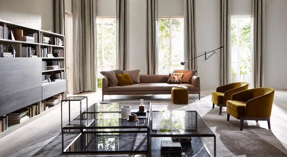 Chelsea armchair lounge chairs from molteni c architonic - Divano molteni paul ...