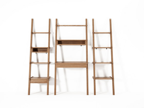 Simply City STANDING MIRROR & SHELF di Karpenter