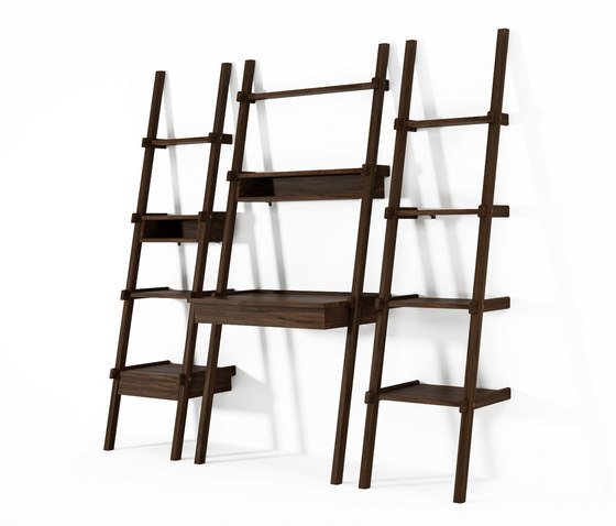 Simply City LADDER SHELF with DRAWER & NICHE von Karpenter
