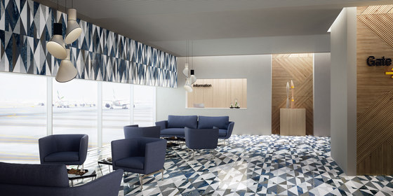 Opus | Tangram club di Lithos Design