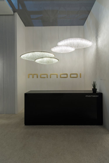 Silk Led Ceiling Suspended Chandeliers From Manooi