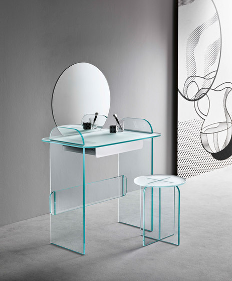 Opalina Stool | Small table by Tonelli