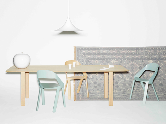 WOGG TIRA Solid Wood Table di WOGG