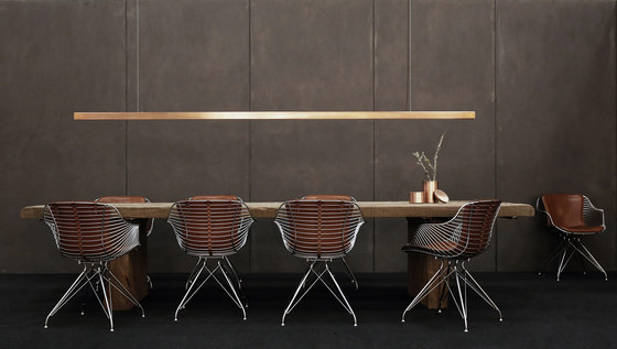 Wire Dining Chair de Overgaard & Dyrman