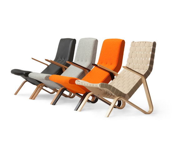 Grasshopper Lounge Chair by Tetrimäki