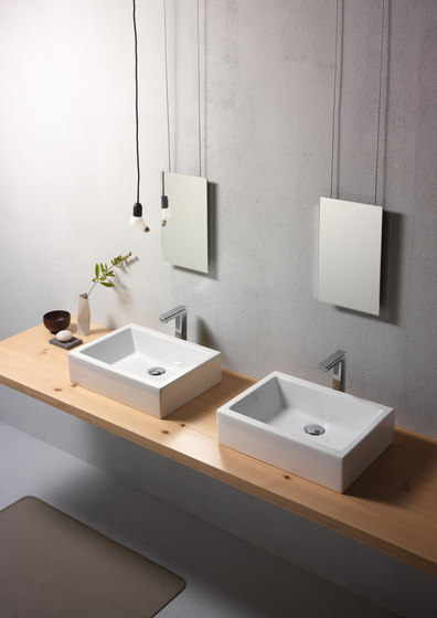 Kube 50/T | Washbasin by GSI Ceramica