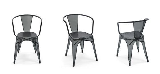 Perforated A56 armchair de Tolix