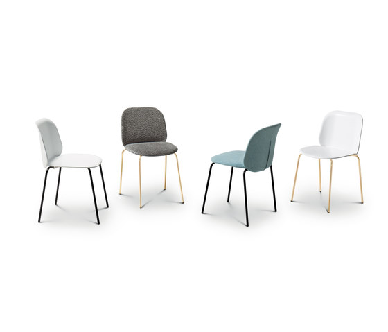 Corolle Padded Chair by ARFLEX