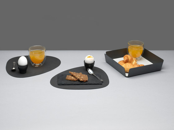 Tray Square Mini | anthracite by LINDDNA