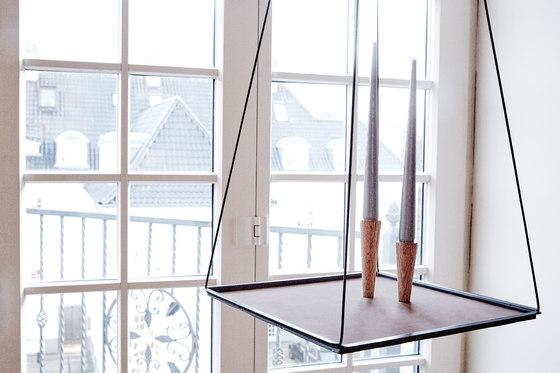 Pendulum | square L metallic von LINDDNA