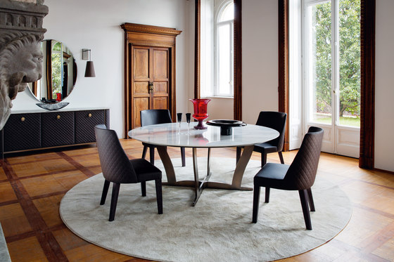 Bogart Table by Alberta Pacific Furniture