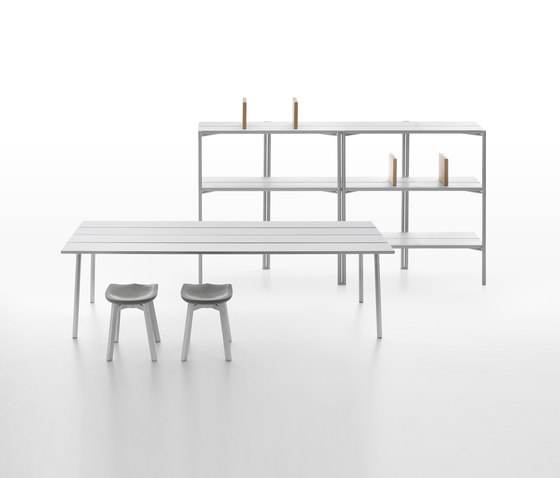 Run 3-Seat Bench di emeco