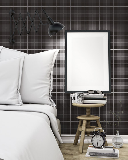 Tartan White | TN6060W by Ornamenta