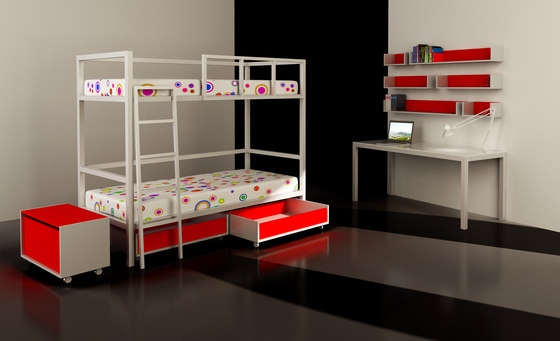 Juvenil Bed by Sistema Midi