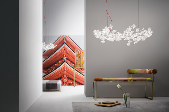 Hanami suspension de Slamp