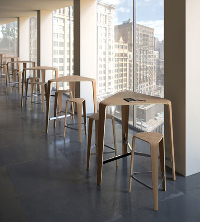 Tre Bar Stools From Davis Furniture Architonic