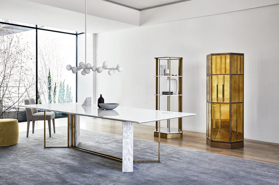Dimitri Night table by Meridiani