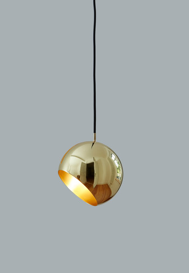 Tilt Globe Wall Brass by Nyta