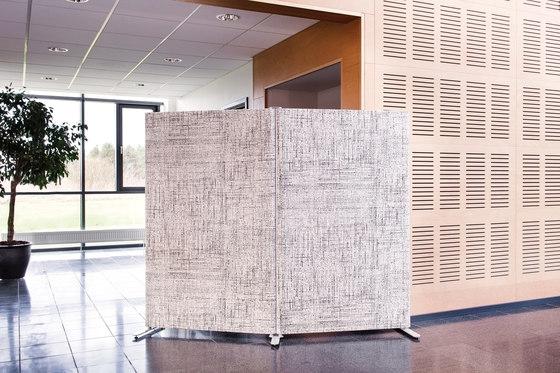 Kurage Floor Screen System 50 | Rounded | Checks de Kurage