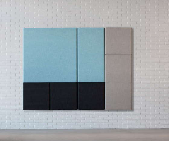 Kurage Wall Panel System 50 | Square | Checks by Kurage