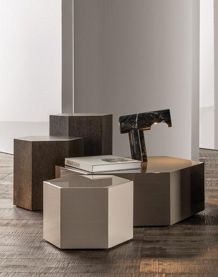 Aeron coffee tables de Minotti