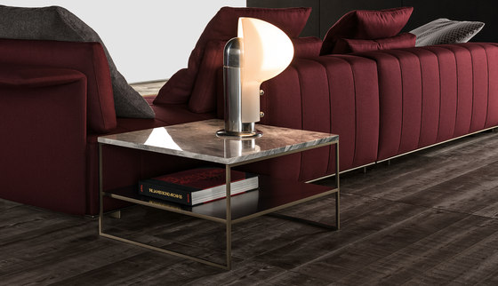 Calder Bronze Coffee table de Minotti