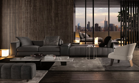 Freeman Tailor Sofa de Minotti