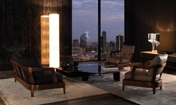 Virginia Indoor Sofa by Minotti