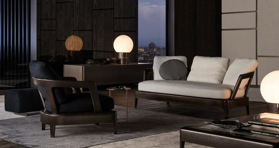 Virginia Indoor Coffee table de Minotti