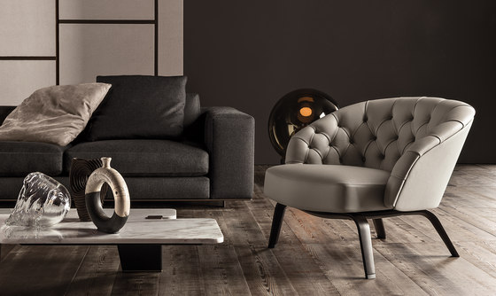 Winston Armchair by Minotti