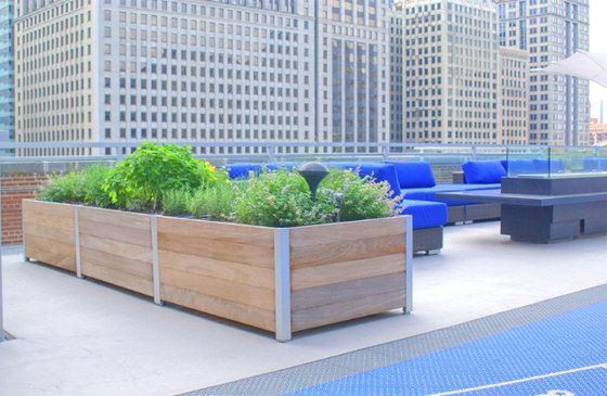 Mariner Multi-Section Planters by DeepStream Designs