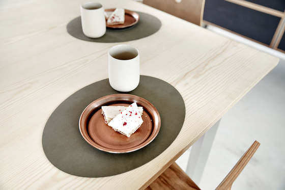 Table Mat | oval double by LINDDNA
