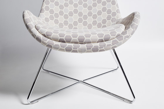 Honeycomb Smoke by Camira Fabrics