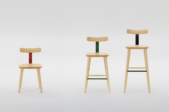 T&O T1 chair by MARUNI