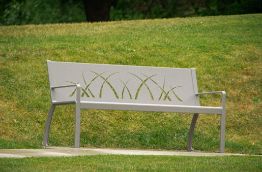MLB970B-M Backless Bench by Maglin Site Furniture