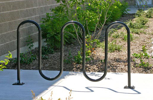 MBR400-7-S Bike Rack by Maglin Site Furniture