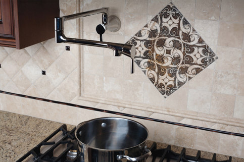 Vespera Pot Filler by Newport Brass