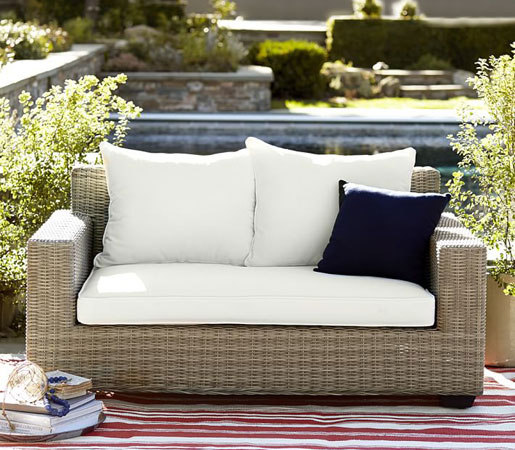 ... Torrey All-Weather Wicker Dining Chair - Natural by Distributed by  Williams-Sonoma, ... - TORREY ALL-WEATHER WICKER DINING CHAIR - NATURAL - Chairs From