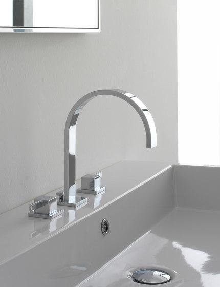 Qubic - Single lever basin mixer - 12cm spout by Graff