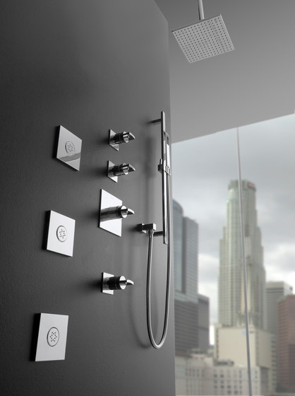 Sade - Thermostatic SKI shower set - exposed parts by Graff