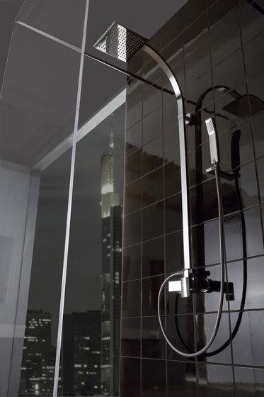 Targa - Three-hole washbasin mixer by Graff