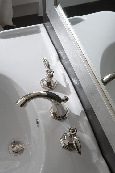 Topaz - Deck mounted bathtub set by Graff
