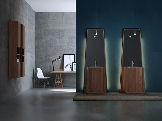 Totem small mirror de Idi Studio