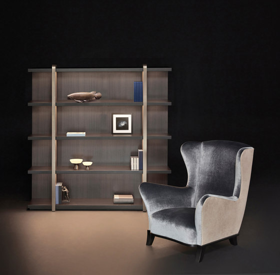 Bluette armchair by Promemoria