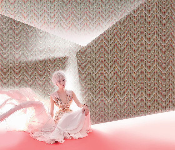RAPTURE - Graphical pattern wallpaper MUZE 203-202 by e-Delux
