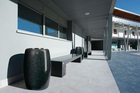 Eraclea Stoneware Bench de Bellitalia