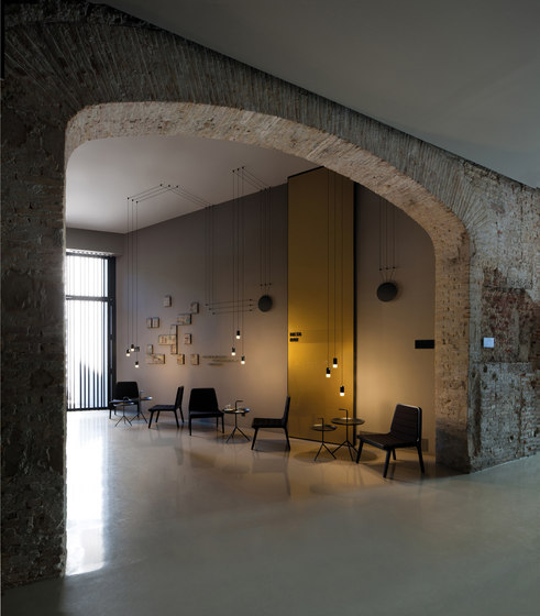 Wireflow Free-Form Pendant lamp by Vibia