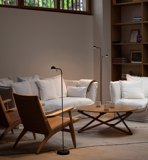 Pin Floor Lamp Free Standing Lights From Vibia Architonic