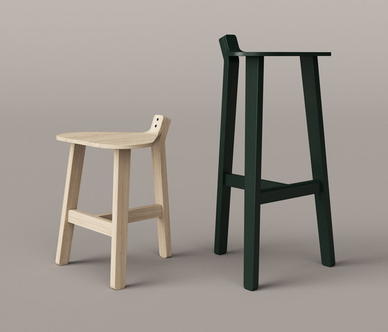 Bronco Bar Stool black de Karakter Copenhagen