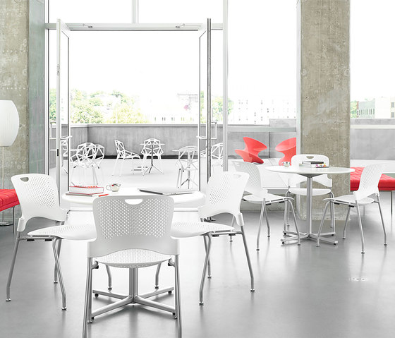 Caper Stacking Stool de Herman Miller